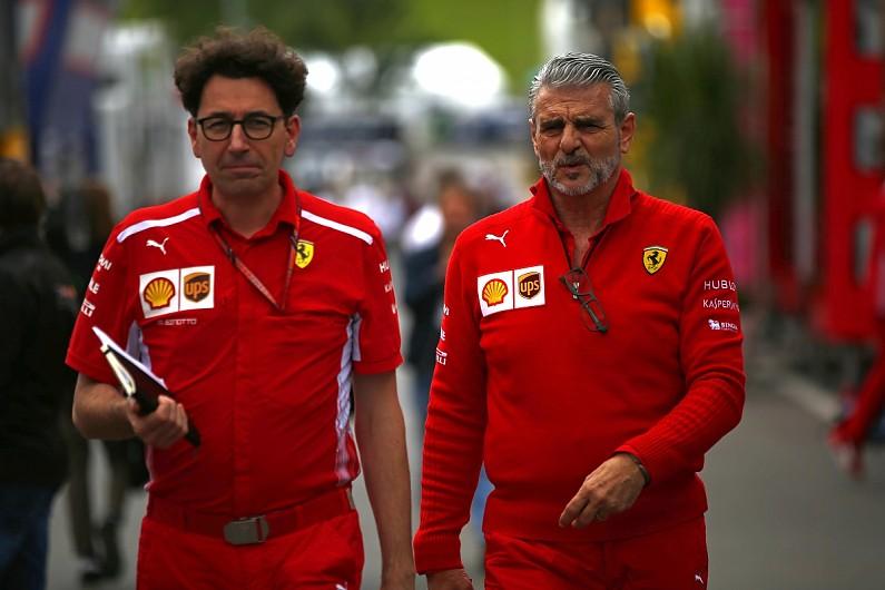 Ferrari-Arrivabene-Binotto