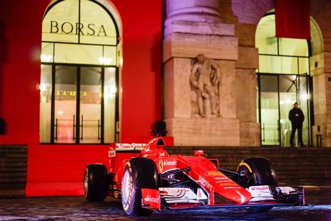 Ferrari news borsa