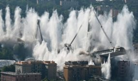 atlantia autostrade ponte morandi demolito